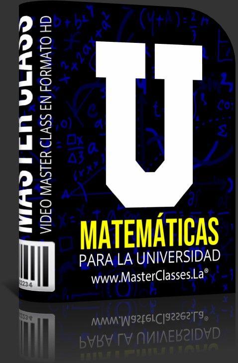 Curso de matematica para la universidad