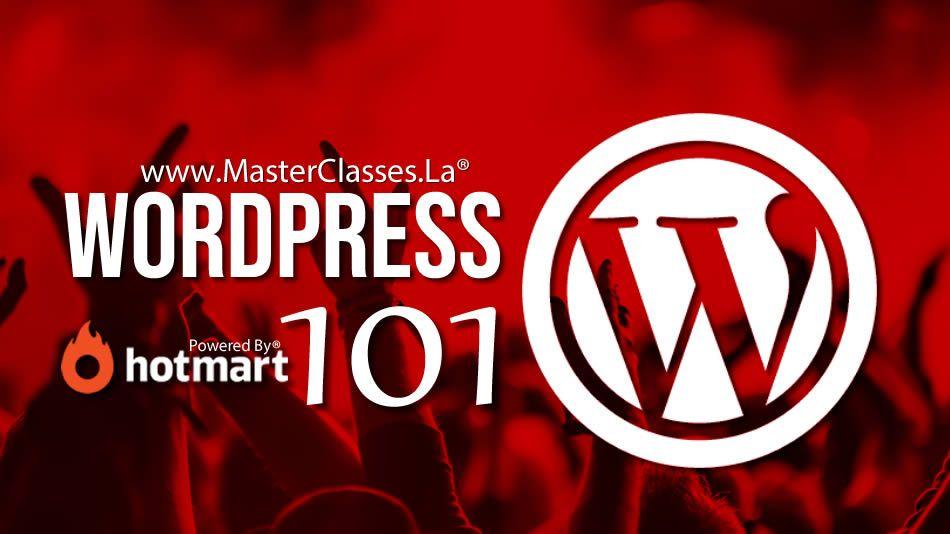 capacitación de wordpress