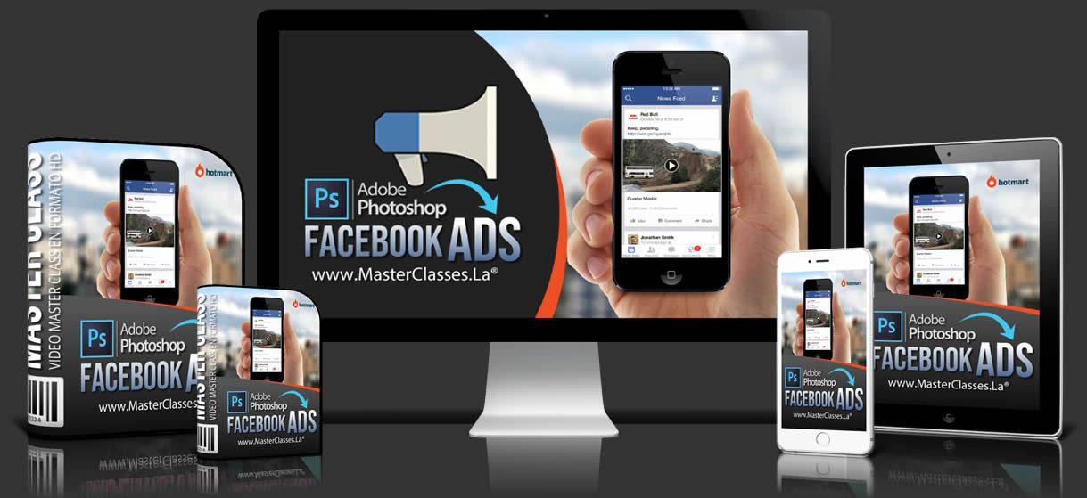 curso de photoshop con facebook ads