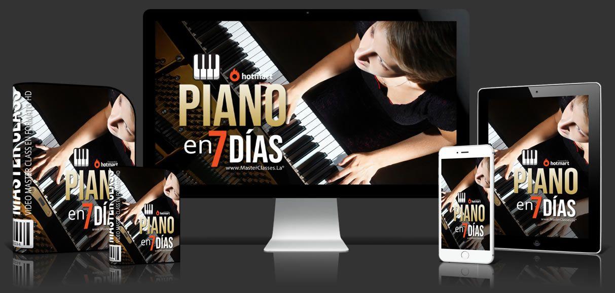 Aprender piano en 7 dias