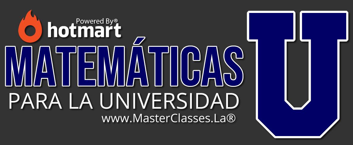 Matemáticas para la Universidad