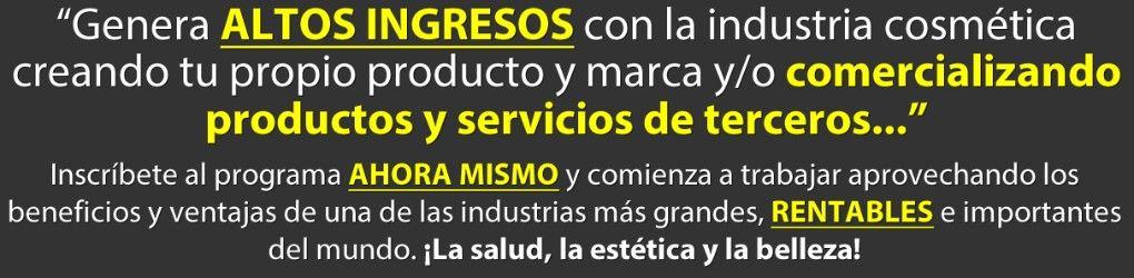 Industria de la cosmética