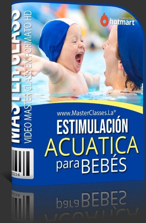 Como estimular a un bebe con el agua