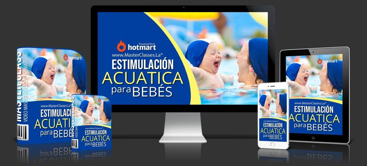 Estimulación acuática para bebes