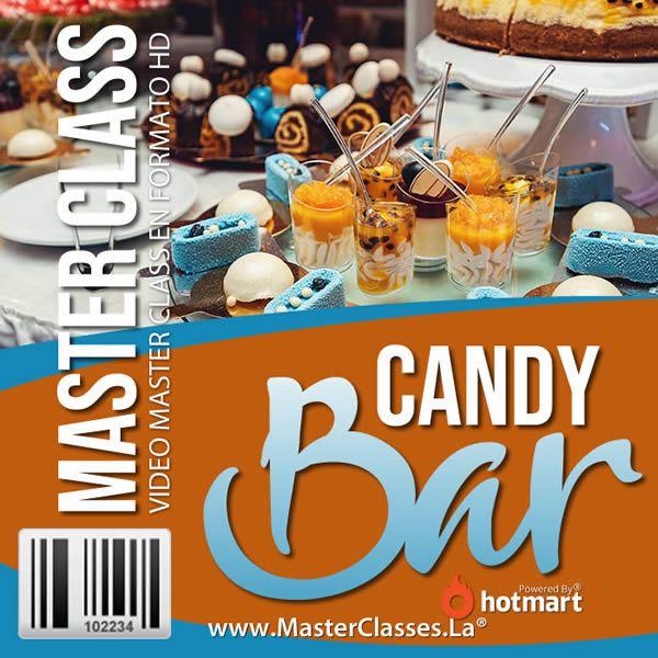 Decoración de Mesa Candy Bar
