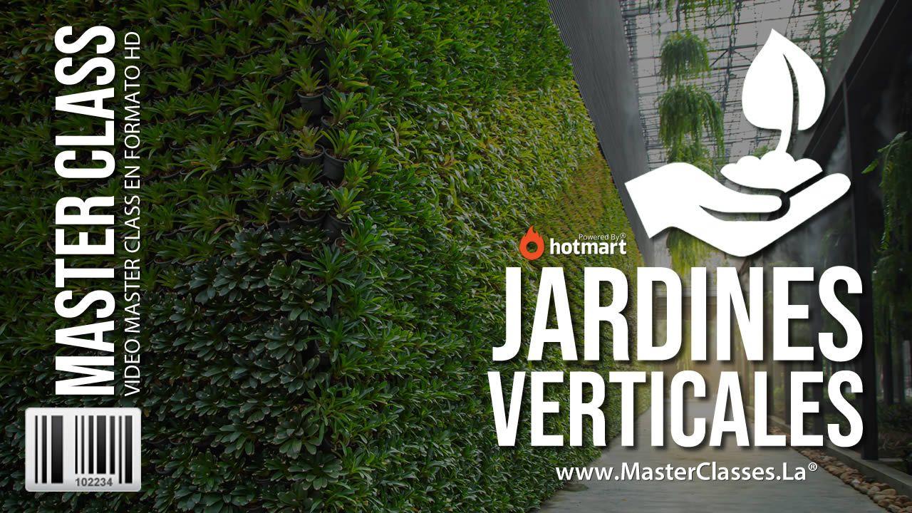 como crear jardines verticales