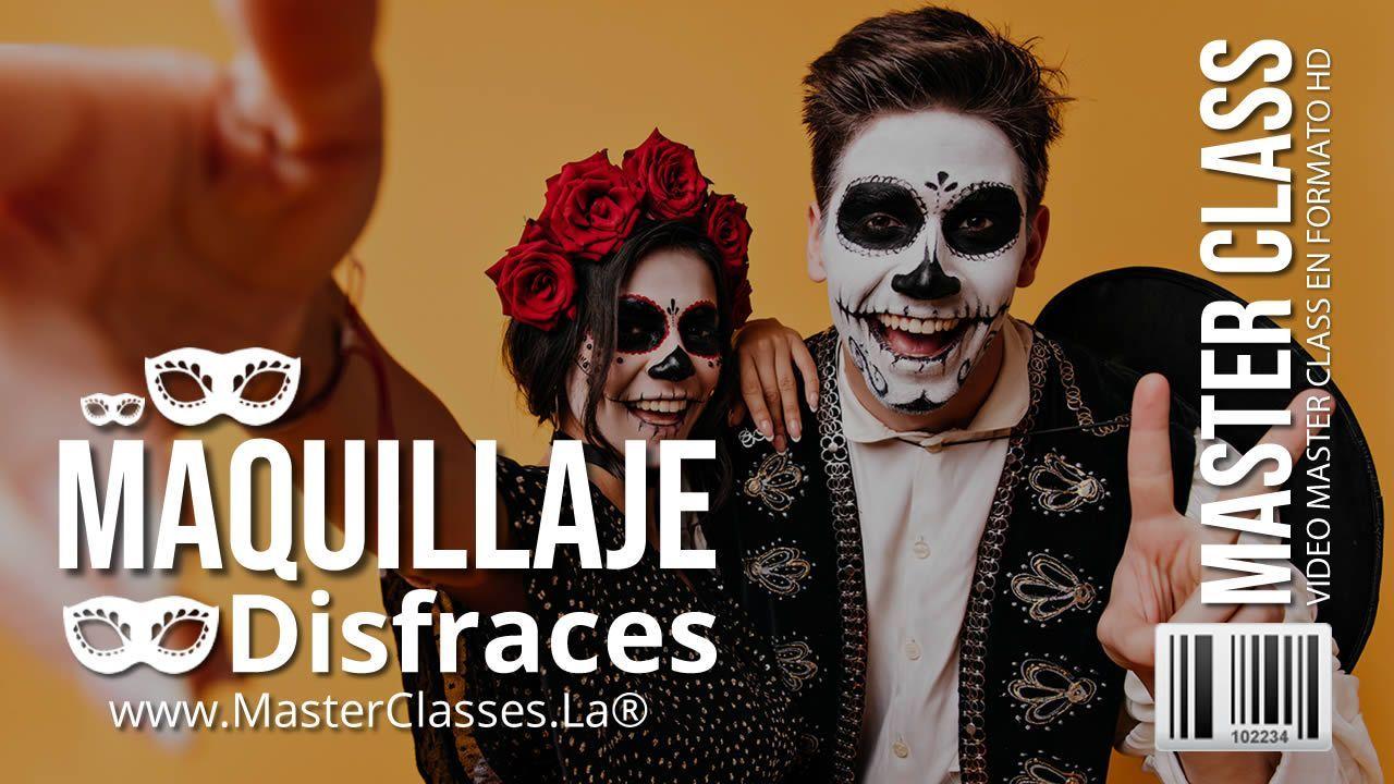 Curso Online de Maquillaje para Disfraces