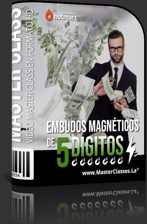 Embudos Magnéticos de 5 Dígitos