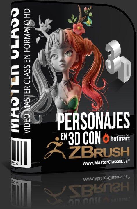 Personajes en 3D con ZBrush
