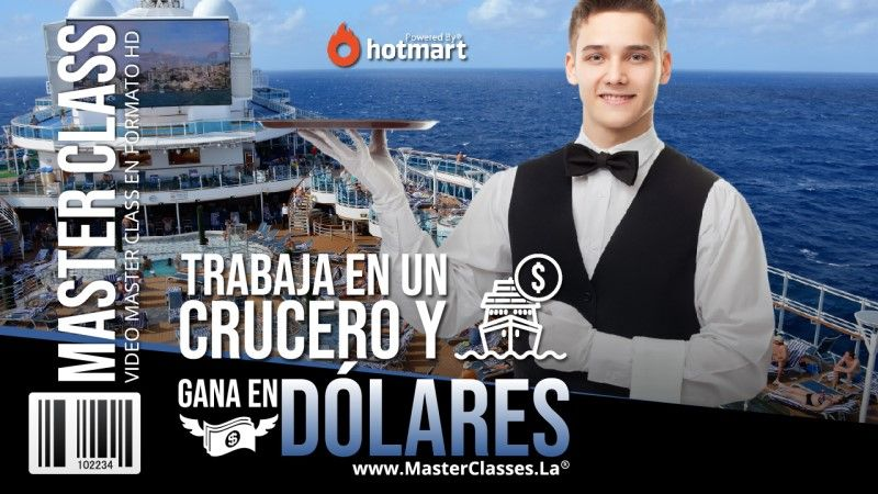 Curso Online para poder trabajar en un crucero