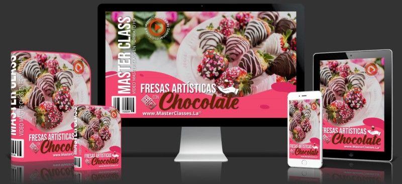 Como decorar con fresas y chocolate
