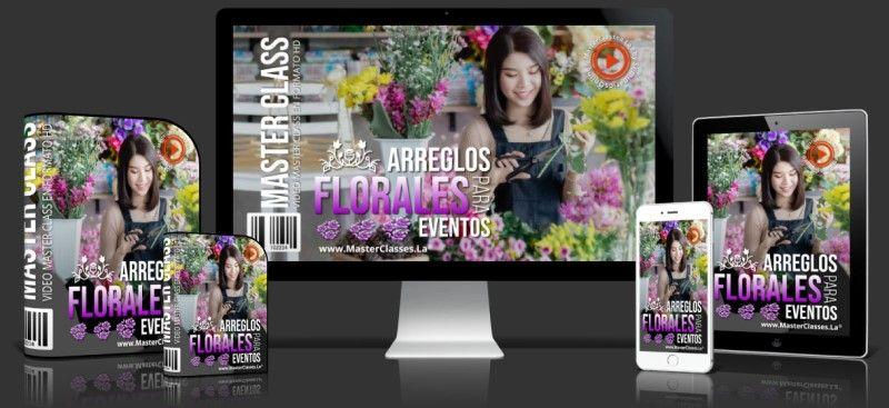 Curso de Arreglos Florales para Eventos