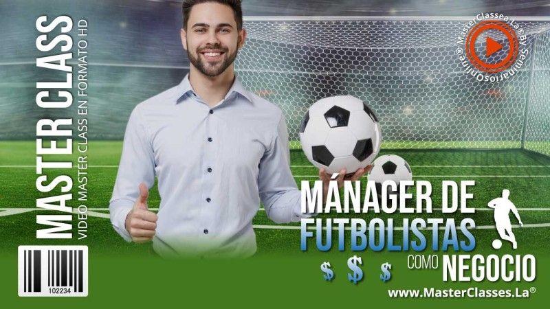 Curso para ser manager de un futbolista