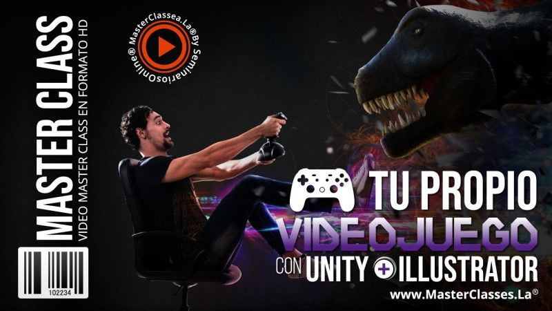 Unity e Illustrator para crear videojuegos