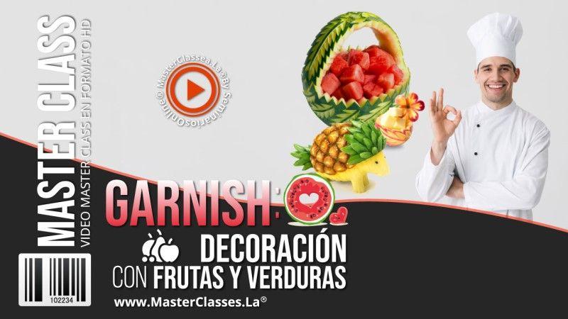 Curso para decorar Frutas y Verduras