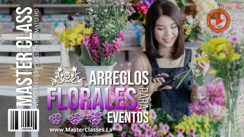 Curso Online de Arreglos Florales para Eventos
