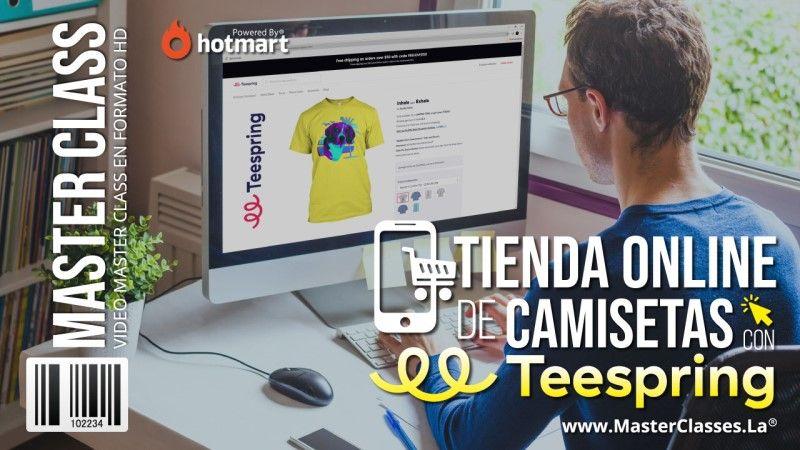 Curso Online de cómo montar una tienda Online de Camisetas