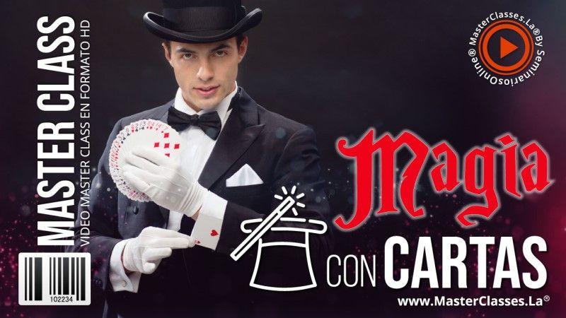 Curso Online de Magia con Cartas