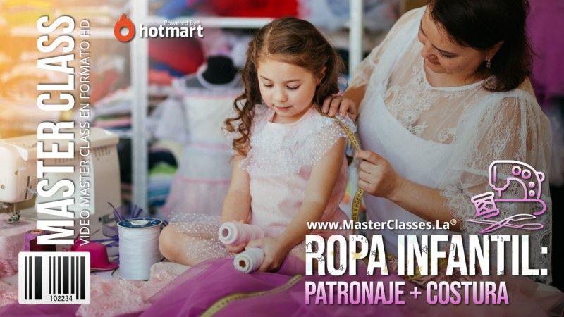 Curso Online de Costura para Ropa Infantil