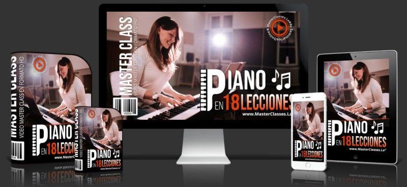 Curso de Piano en 18 Lecciones