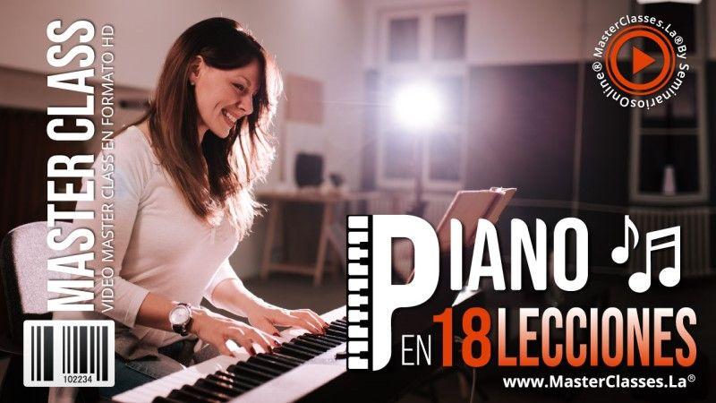 Curso Online de Piano en 18 Lecciones