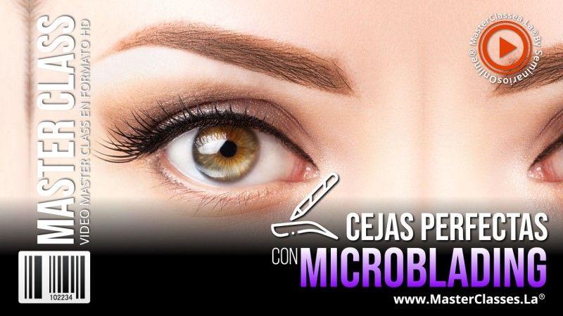Belleza de cejas conoce el microblading