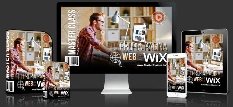 Curso Online para Crear Tu Propia Página Web con Wix