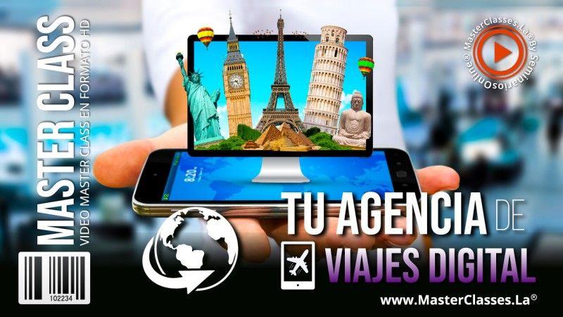 Curso Online de como montar una agencia de viajes digital
