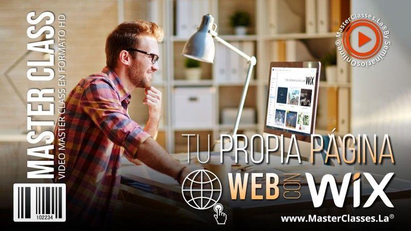 Curso Online con Wix