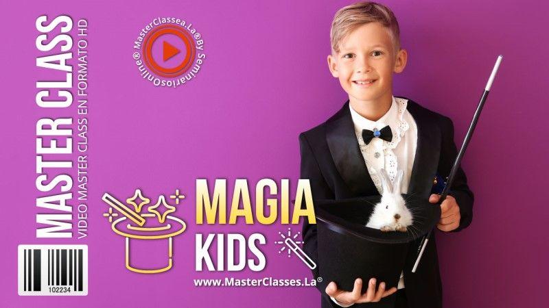 Curso Online de Magia para Niños