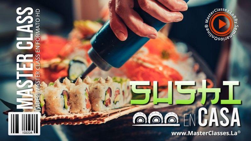 Curso Online de Sushi en Casa