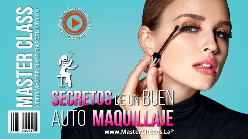 Curso Online de Secretos de Un Buen Auto Maquillaje