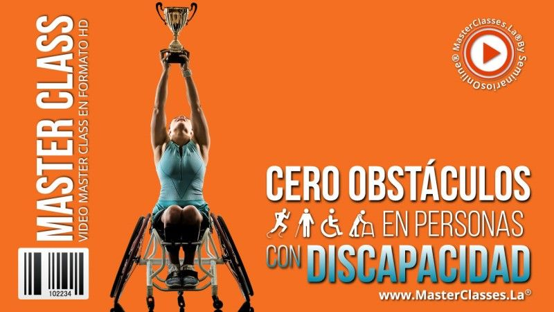 Curso Online Cero Obstáculos en Personas con Discapacidad