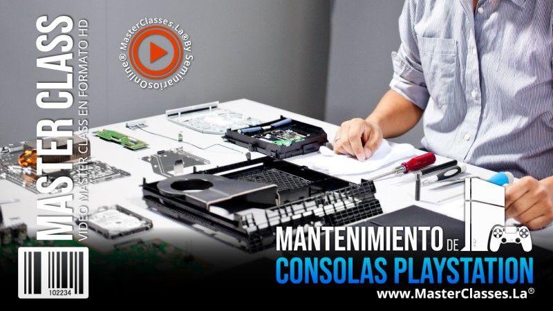 Aprenda sobre Mantenimiento de Consolas PlayStation