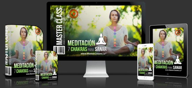 Curso de Meditación 7 Chakras para Sanar