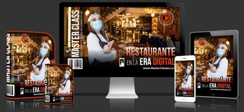 Curso para restaurantes en Internet