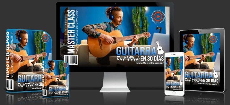 Curso para aprender guitarra en 30 días