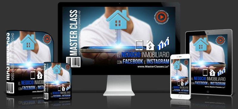 Curso para El Negocio Inmobiliario con Facebook & Instagram