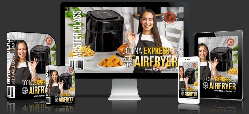 Curso de Cocina Express con Airfryer