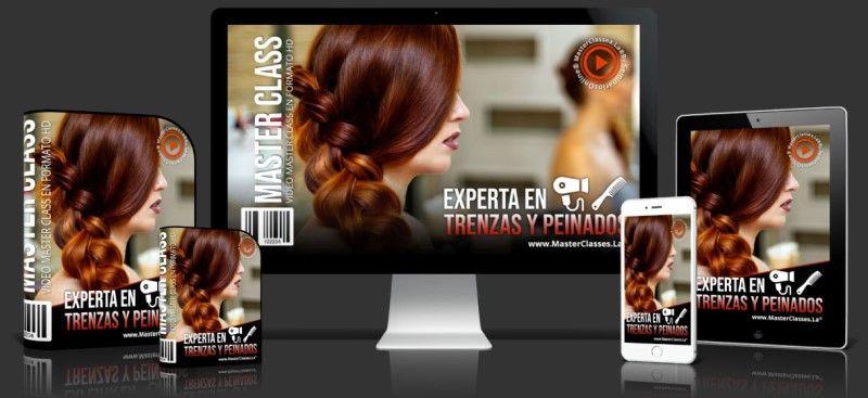 Curso para ser Experta en Trenzas y Peinados