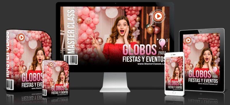Curso de Globos para Fiestas y Eventos