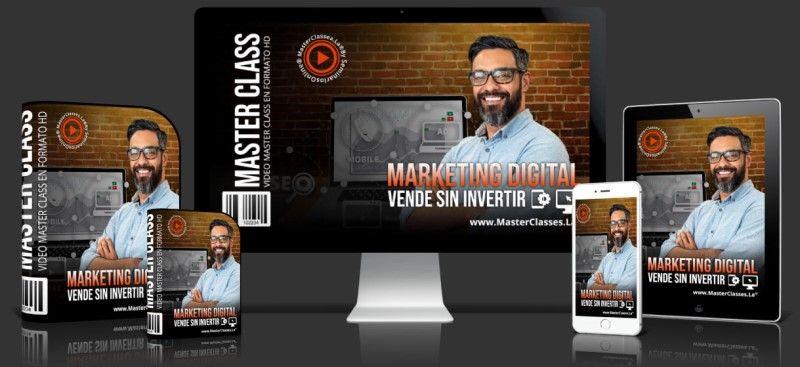 Curso de Marketing Digital Vende Sin Invertir
