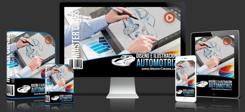 Aprende sobre Diseño e Ilustración Automotriz