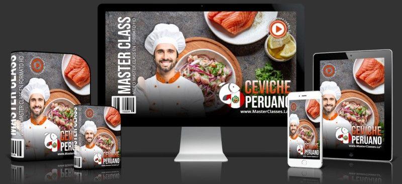 Curso de cómo hacer Ceviche Peruano