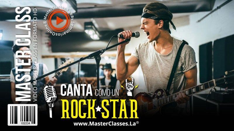 Curso Online para cantar como un rockstar