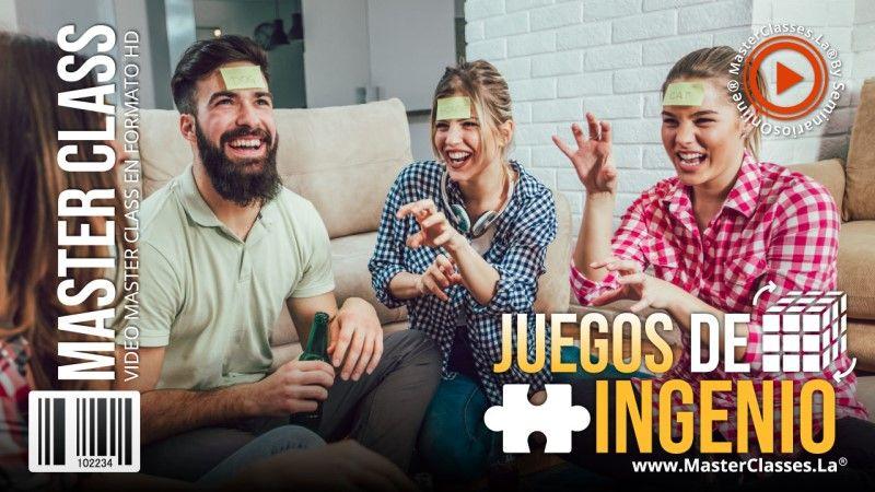 Curso Online de Juegos de Ingenio