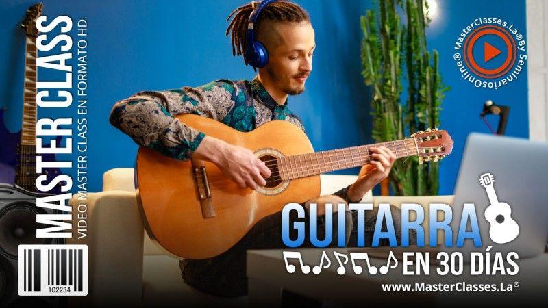 Curso Online para aprender guitarra en 30 días
