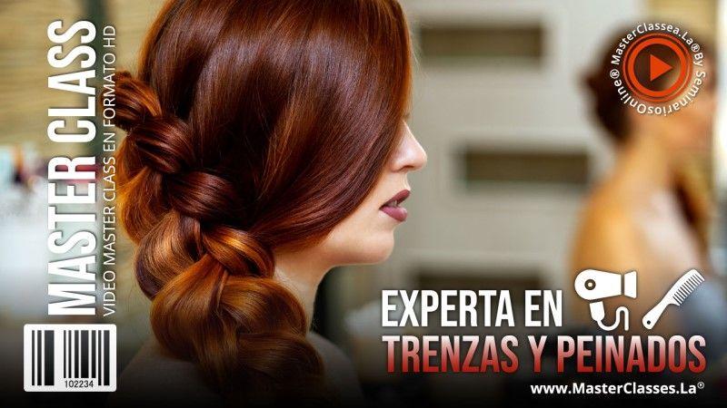 Curso Online para ser Experta en Trenzas y Peinados