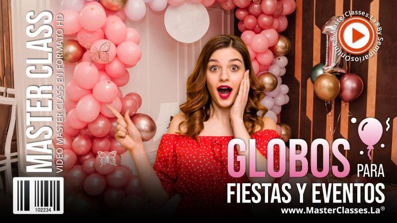 Curso Online Globos para Fiestas y Eventos