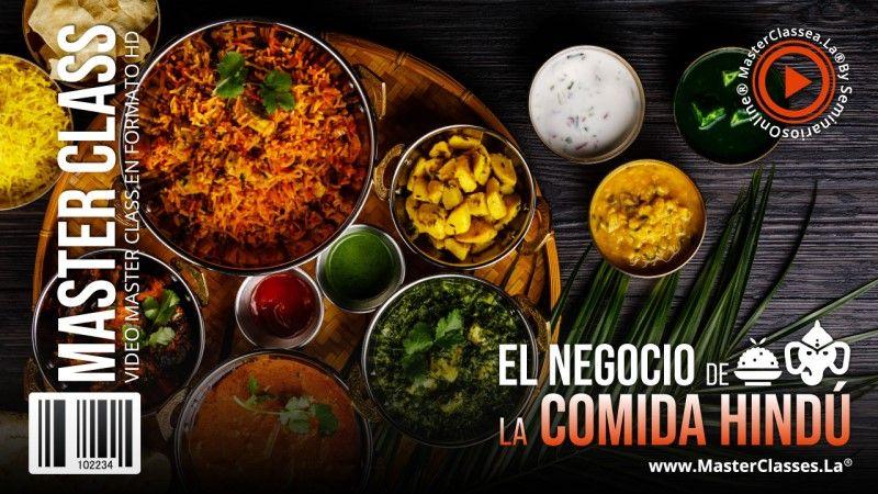 Curso Online para hacer deliciosa comida Hindú